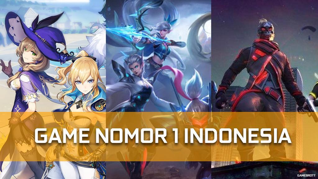 15 Game Nomor 1 Di Indonesia Android 2021 Gamebrott Com