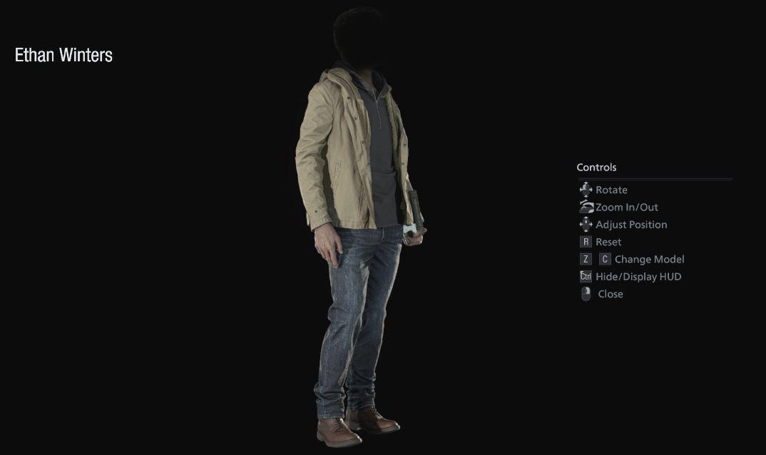 Ethan Winters Resident Evil 8 Village Mod