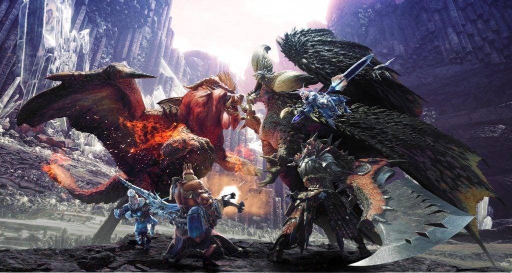 Monste Hunter World elder dragon
