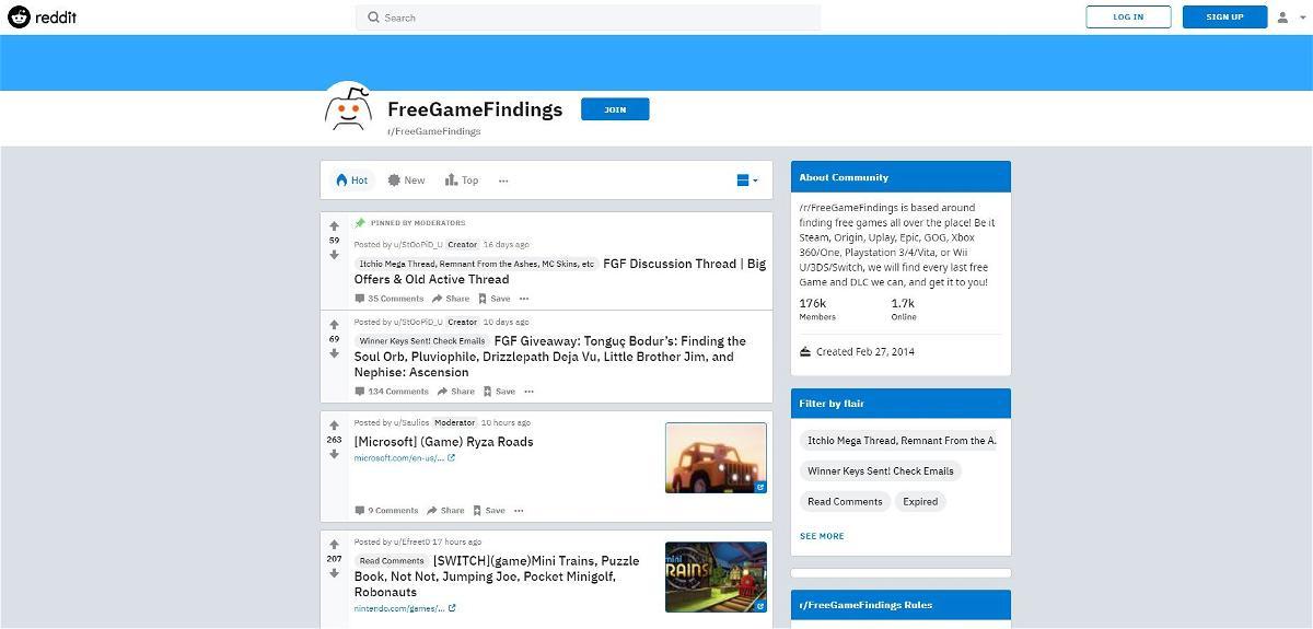 Freegamefindings