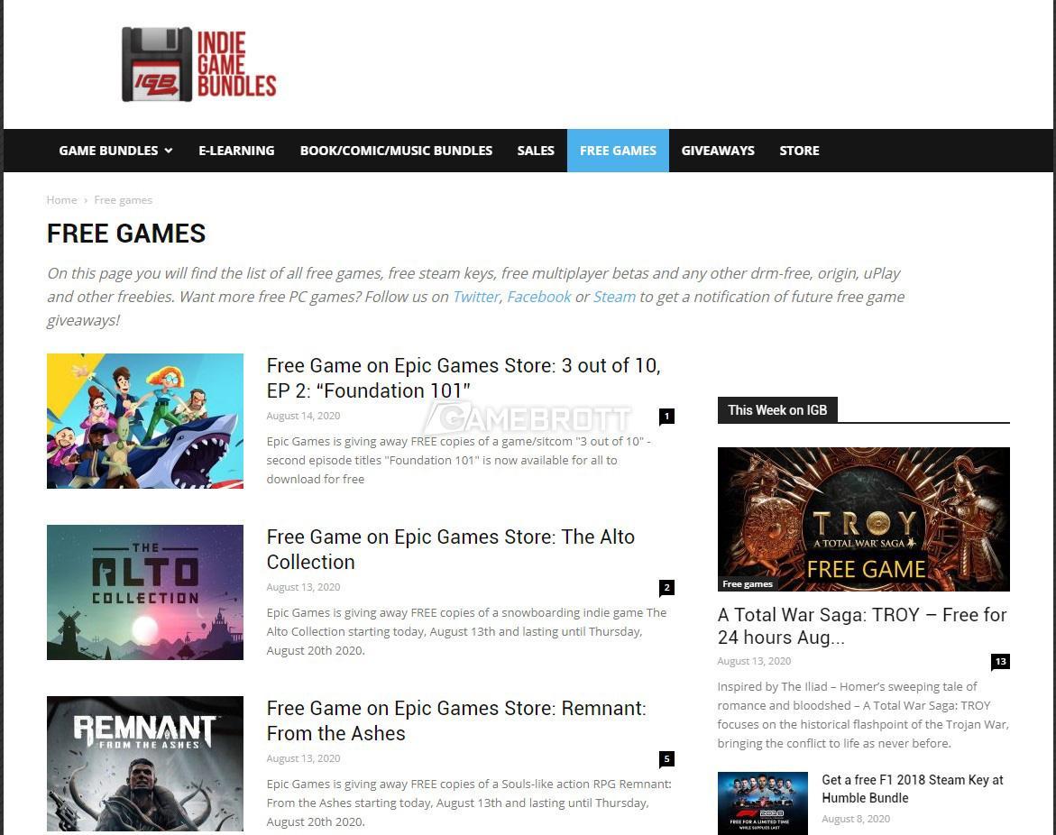 Indiegamebundles