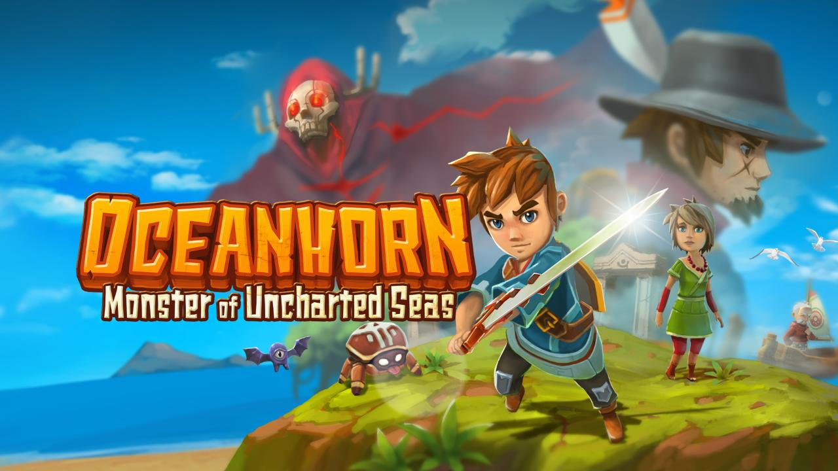 Oceanhorn Monster Of Uncharted Seas Switch Hero