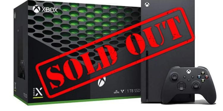 Xbox Sold Out