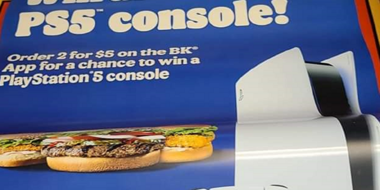 Hungry For Whopper From Burger King You Could Win Playstation 5