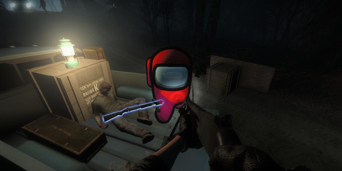 Left 4 Dead 2 Mod Among Us Red
