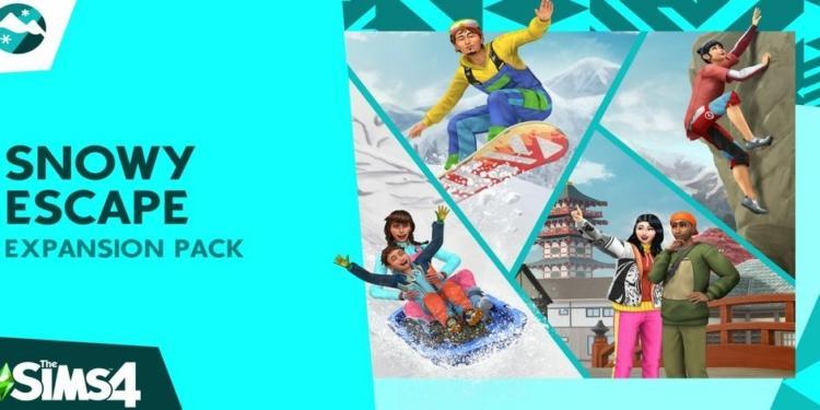 Sims 4 Snowy Escape 2