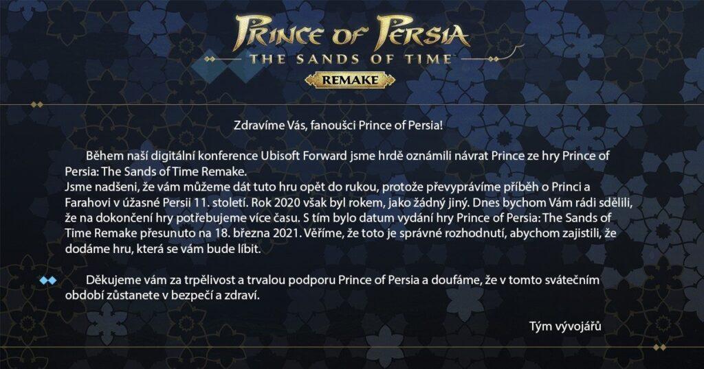 Prince Of Persia Delay