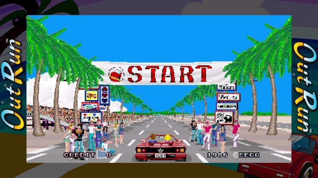 Sega Ages Out Run Switch Screenshot01