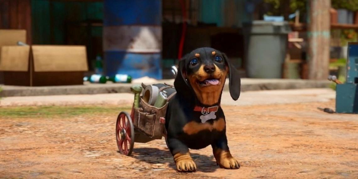 Chorizo Far Cry 6 Wheelchair