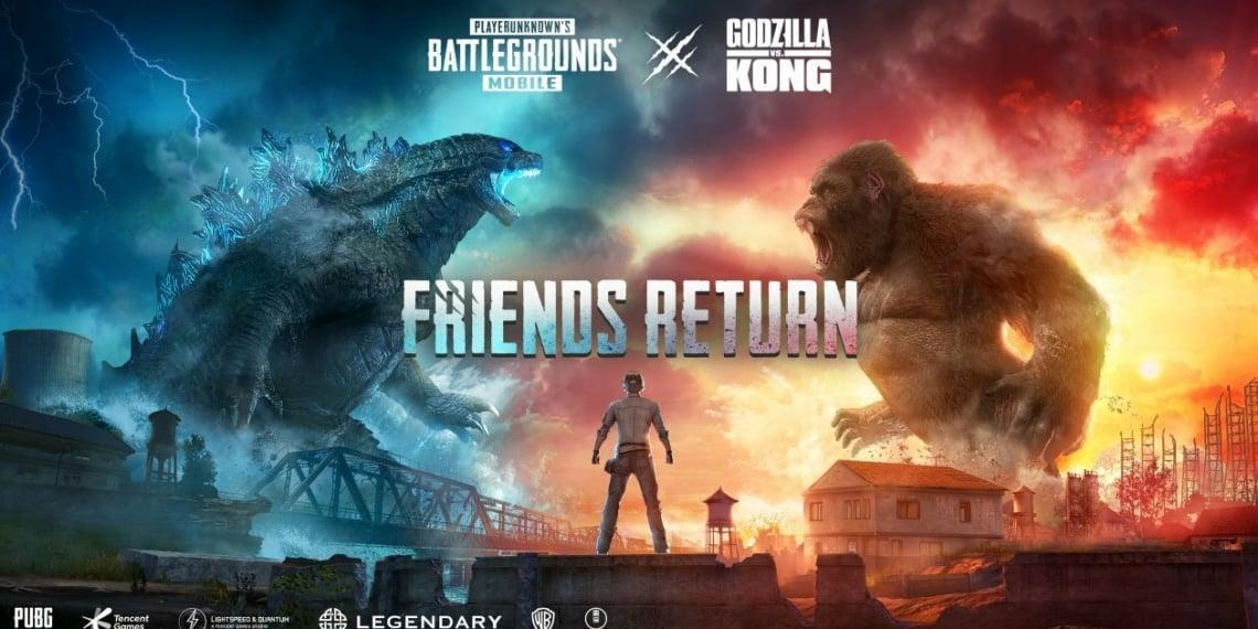 Godzilla Set Pubg Mobile