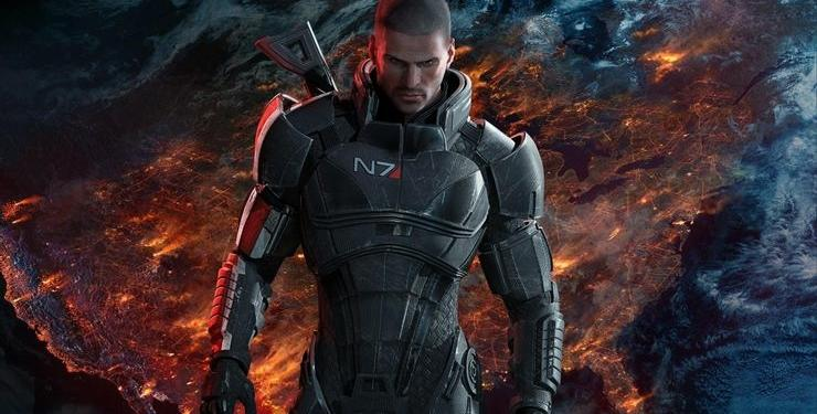 Mass Effect Legendary Edition Commander Shepard N7