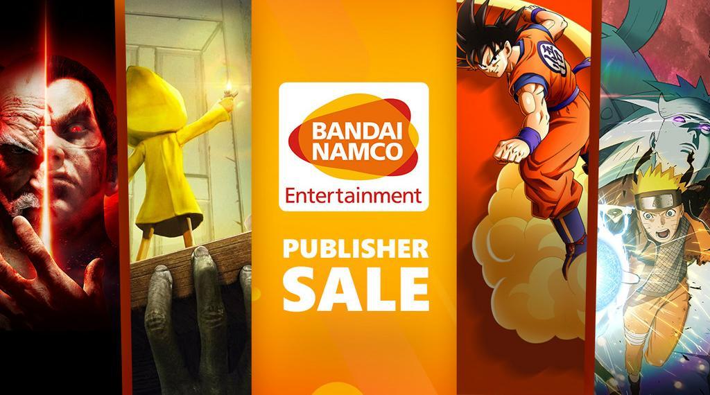 Bandai Namco Publisher Sale