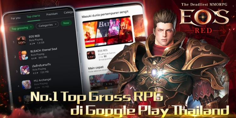 Eos Red Top Grossing
