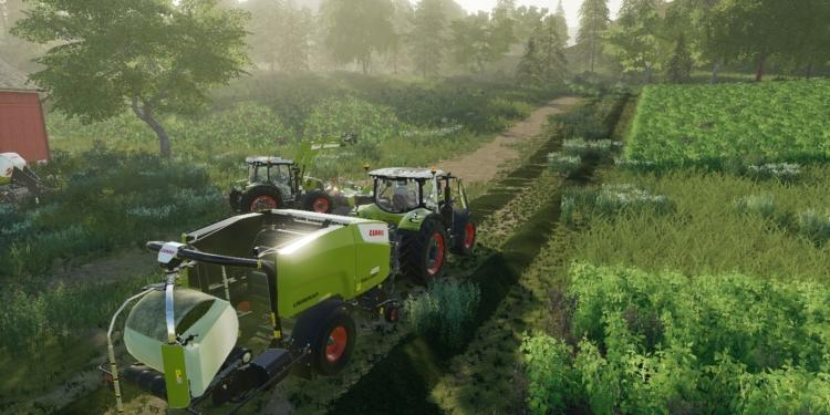 Farming Simulator 19 Pc Platinum Expansion Claas Mowing And Bailing Grass 1