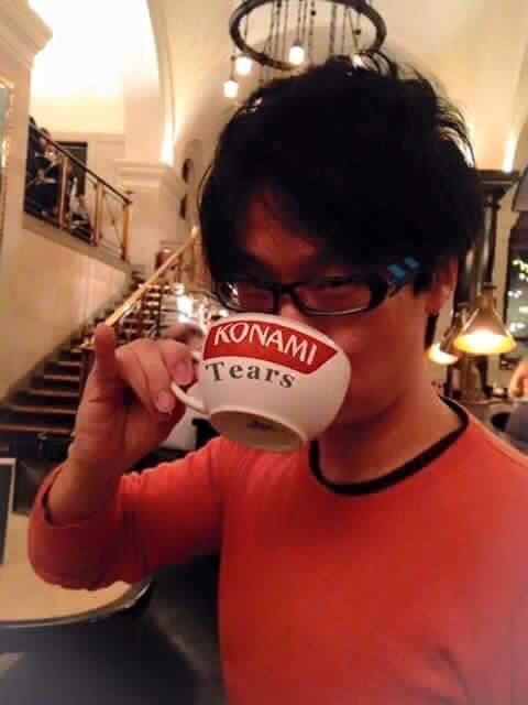 Hideo Kojima Tears