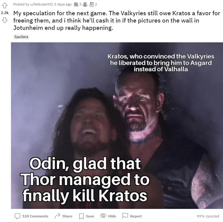 God of War Ragnarok Teori
