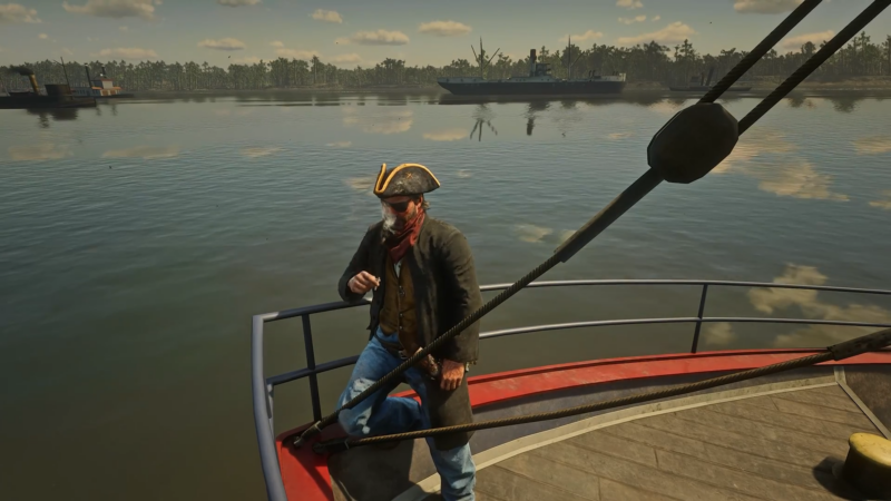 Red Dead Redemption 2 Mod Bajak Laut