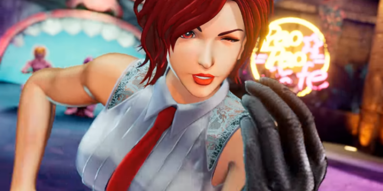 The King of Fighters XV Vanessa