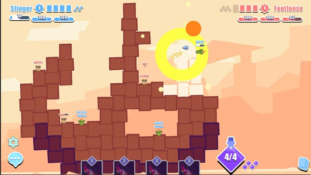 Boom Slingers Ios Android Gameplay