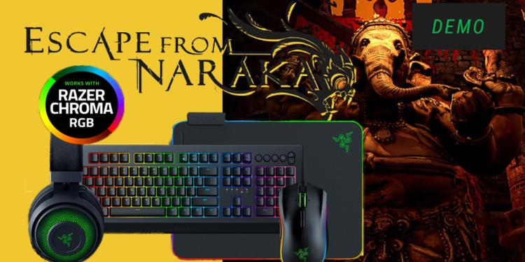 Demo Game Indonesia, Escape From Naraka Janjikan Razer Chroma Bagi Peraih Skor Tertinggi