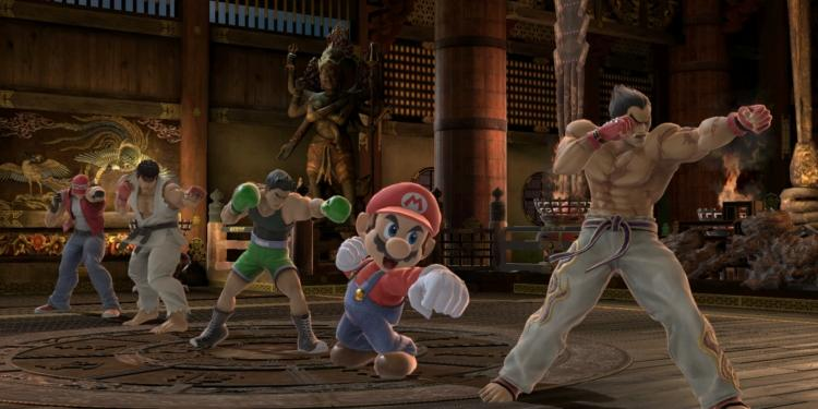 Kazuya Smash Bros Ultimate 4