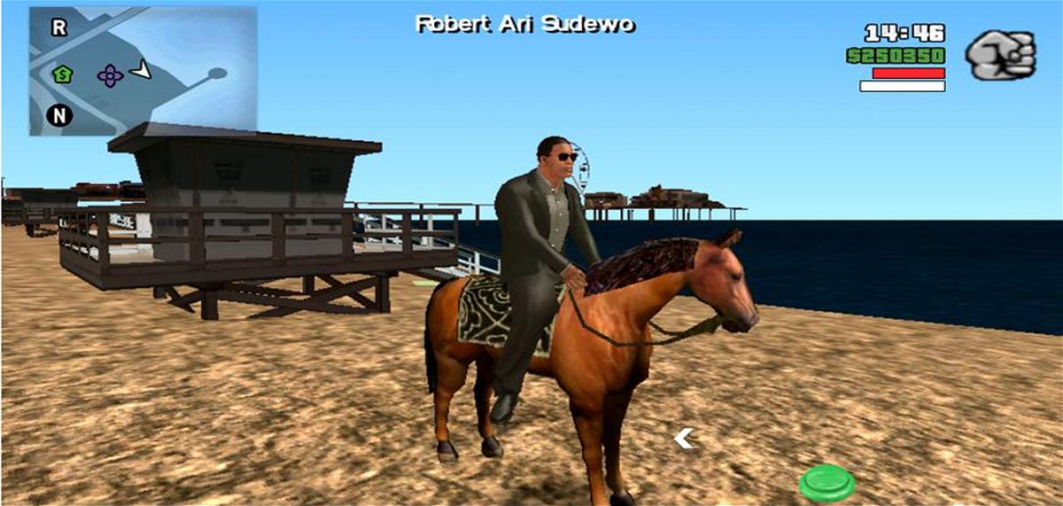 Mod Mengendarai Kuda