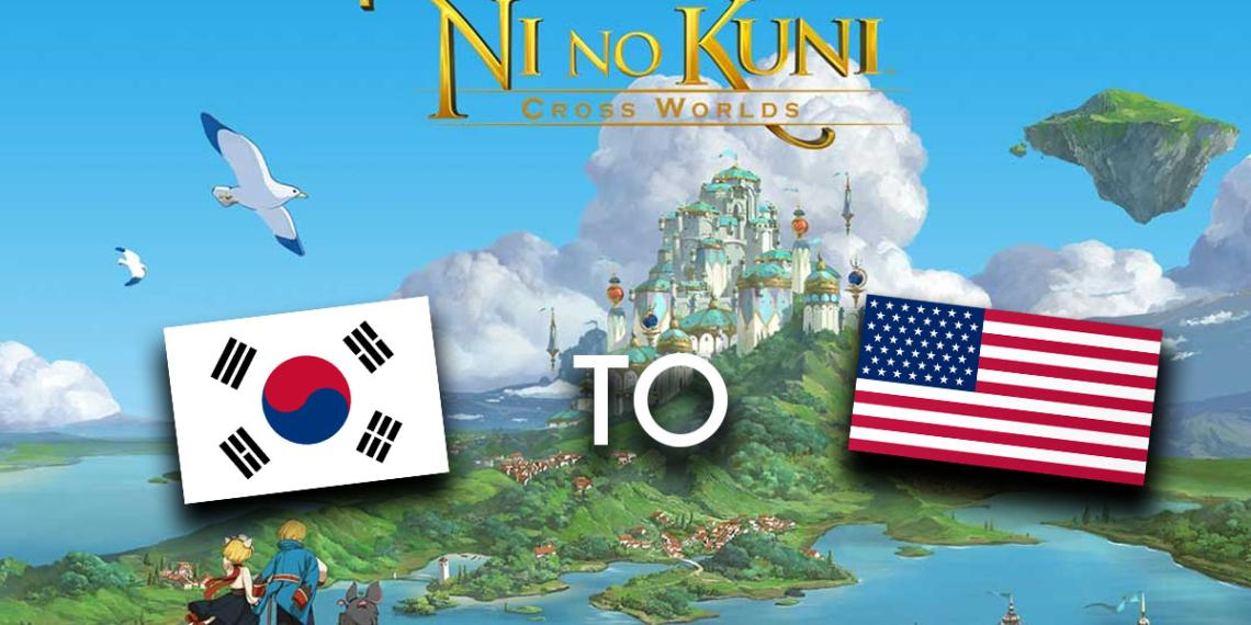 Ni No Kuni Korean To America