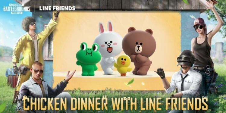 Pubg Mobile Ios Android Line Friends Jpg 820