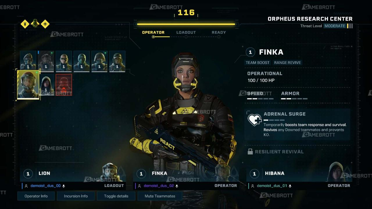 R6e Operator 1