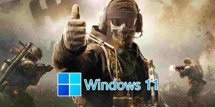 COD PUBG Windows 11