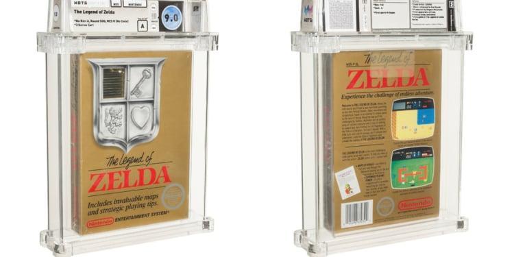 Cartridge The Legend of Zelda