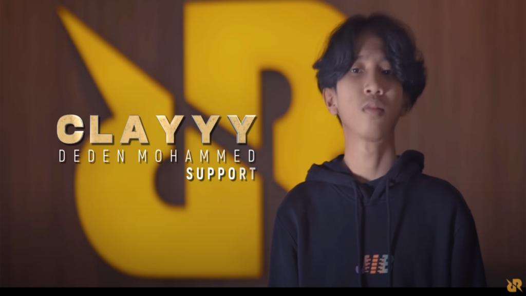 Clayyy MPL Season 8 Line Up RRQ Hoshi