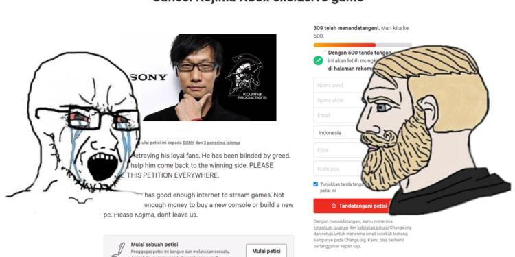 Hideo Kojima Xbox Petisi