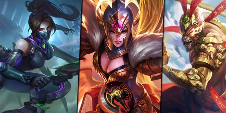 7 Hero Ini Akan Sangat Overpower Ketika Menggunakan Item Baru War Axe di Mobile Legends