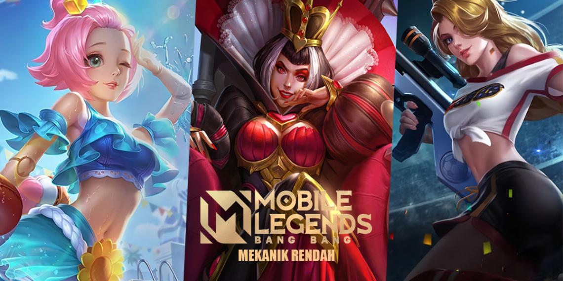 10 Hero Terbaik Dengan Mekanik Rendah di Mobile Legends