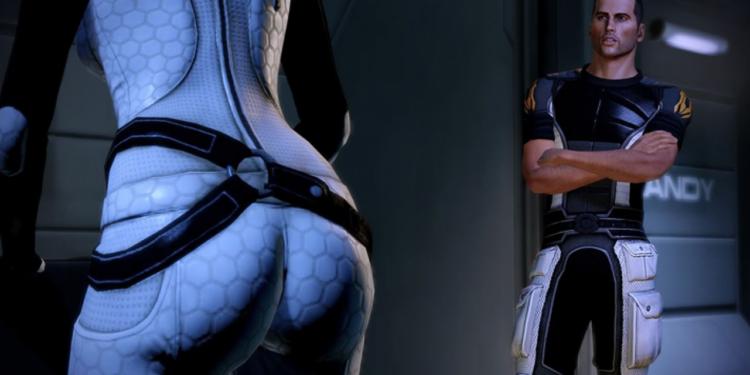 Mass Effect Legandary Edition Miranda Butt Shots 1280x720