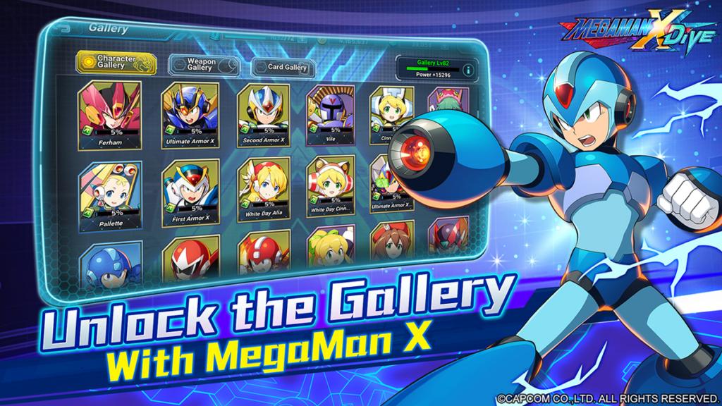 Mega Man X Dive 3