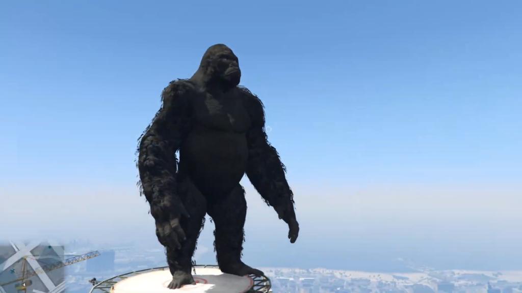 GTA V King Kong Godzilla