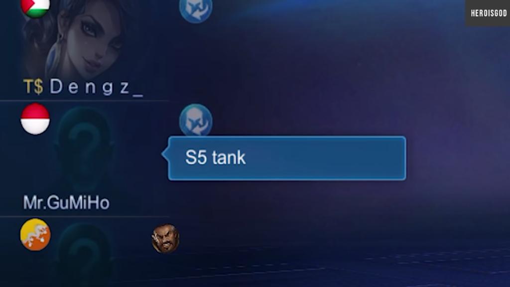 No Tank Fakta Solo Rank Mobile Legends