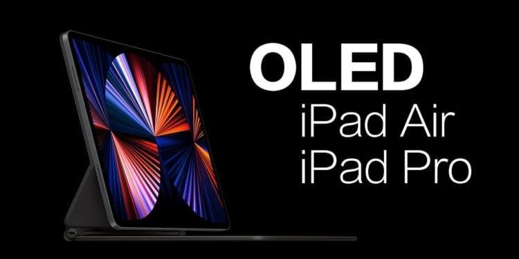 Apple iPad Layar OLED