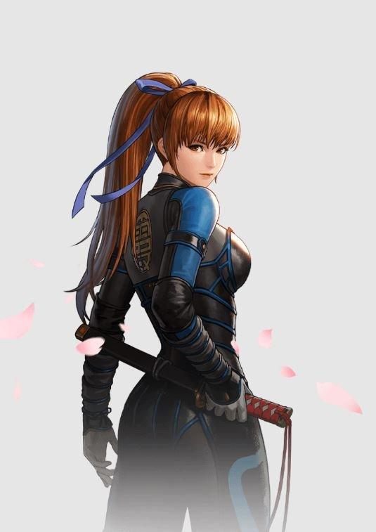 The King of Fighters All Star Dead or Alive Kasumi