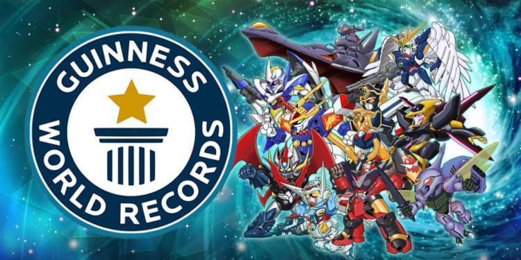 Super Robot Wars Guinness World Record