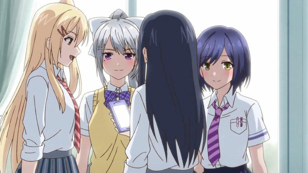 Vtuber Higuchi Kaede Dan Shizuka Rin Muncul Di Anime I'm Standing On A Million Lives 2nd Season