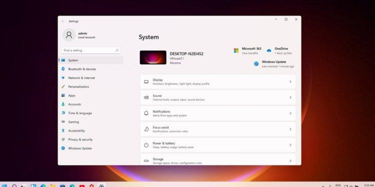 Pengaturan Terbaru Windows 11