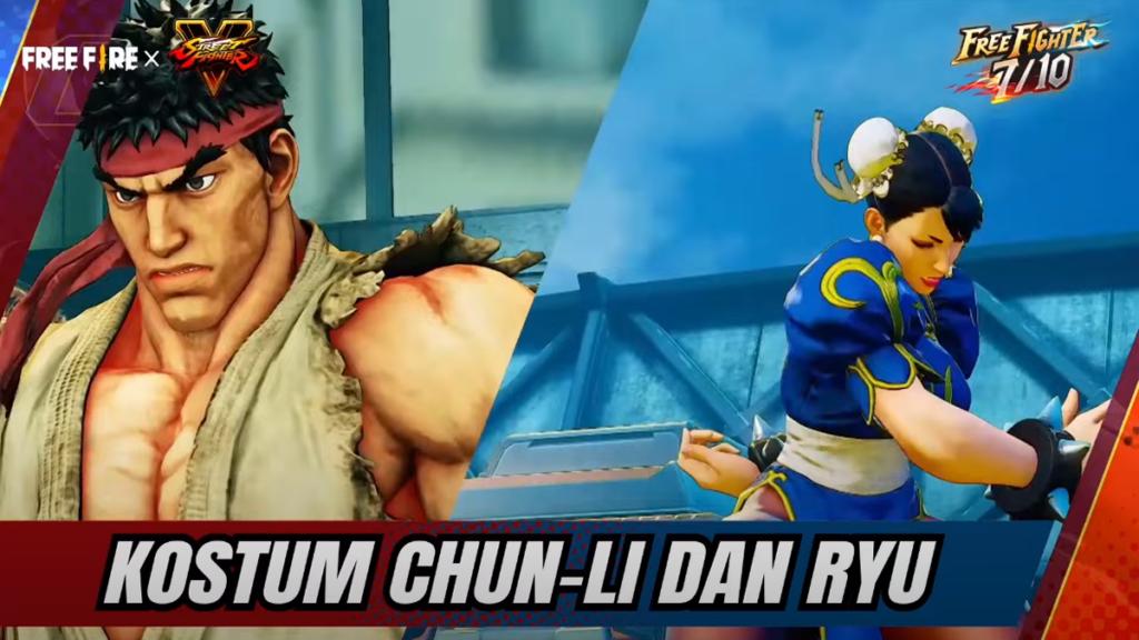 Kostum Ryu Dan Chun Li