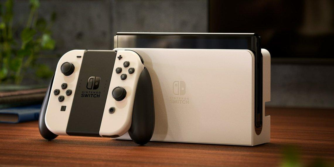 Nintendo Switch Oled White 1