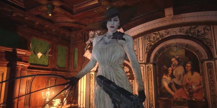 Resident Evil Village Lady Dimitrescu Mr X